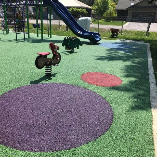 New Playground Surface